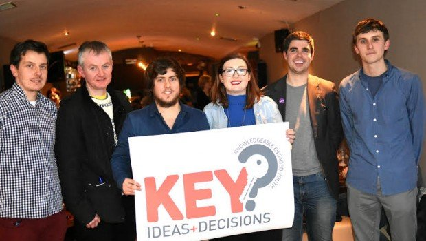 The Ideas Collective: Chris, Owen, Gary and Laura