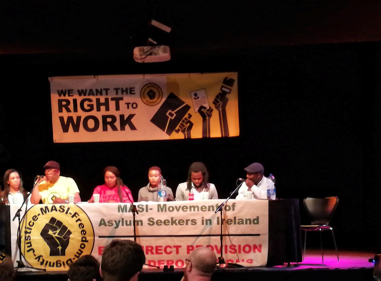 Right to work = the right to dignity