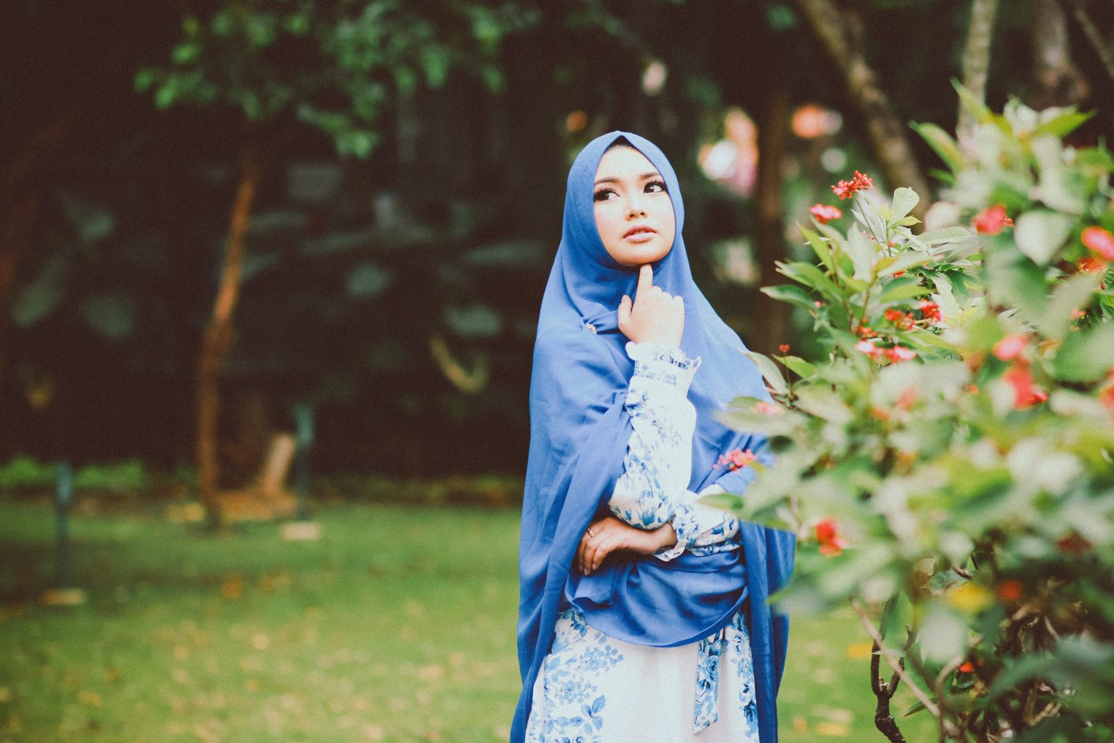 The hijab, niqab, burqa and other coverings.