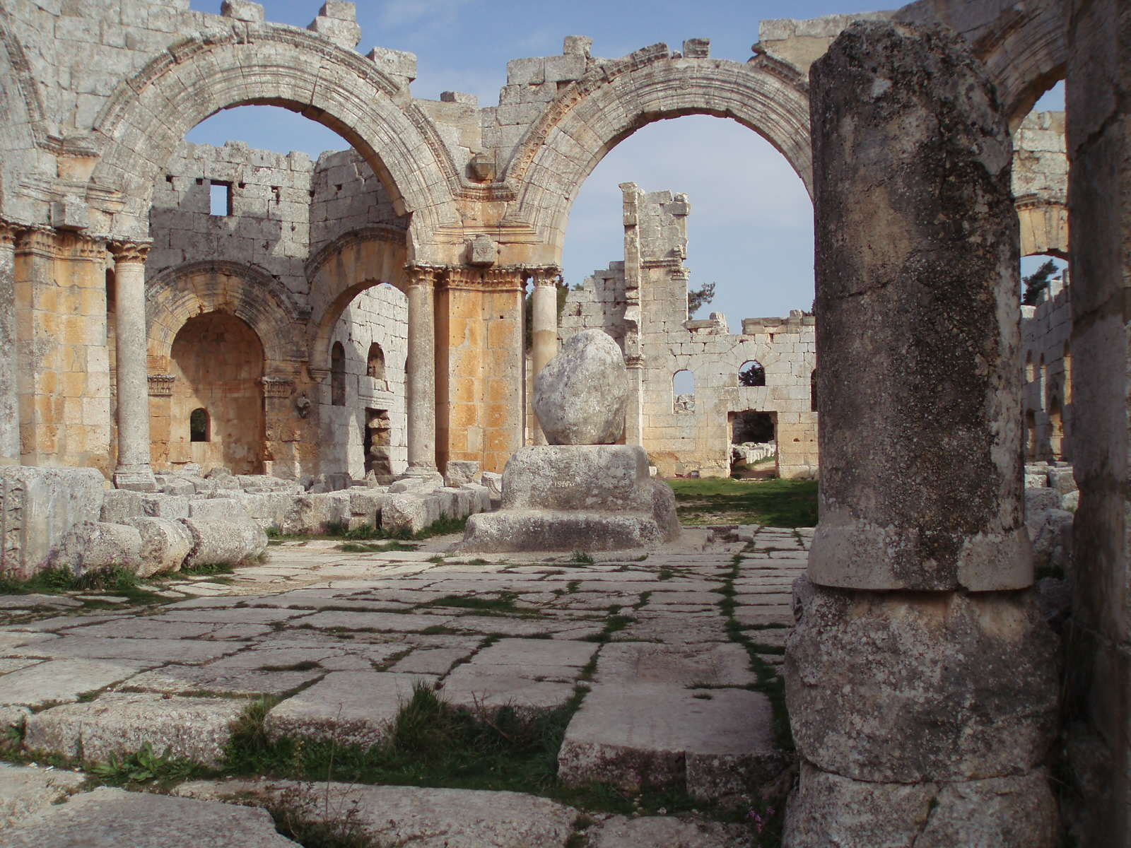 The destruction of heritage and history during wartimes