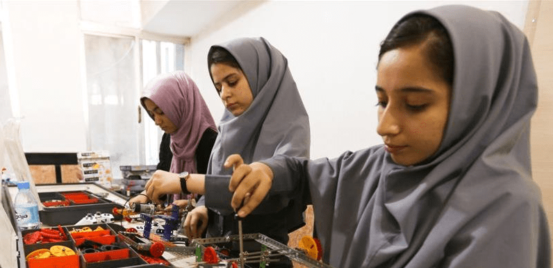 When Afghan women take their education in their own hands