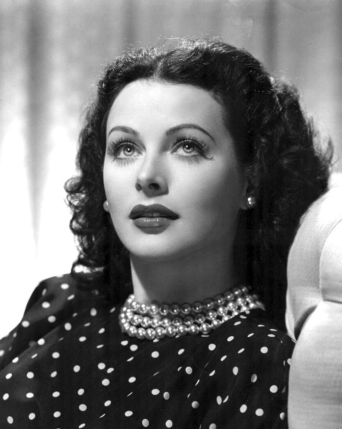 Hedy Lamarr: not just a pretty face!