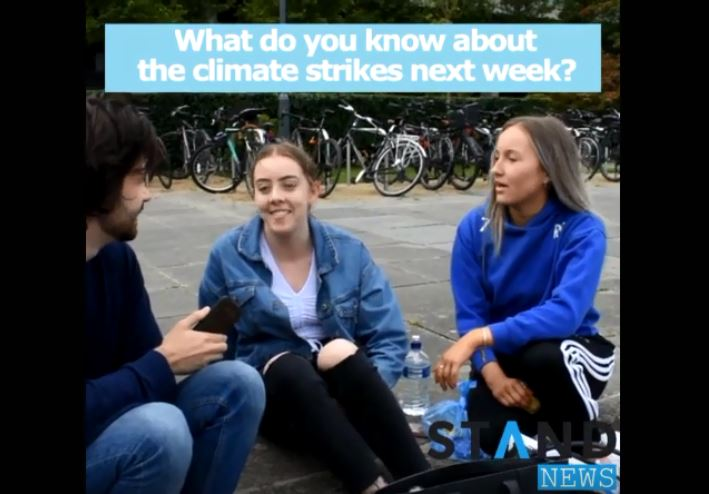 Vox-pop: what do students think of the climate strikes?