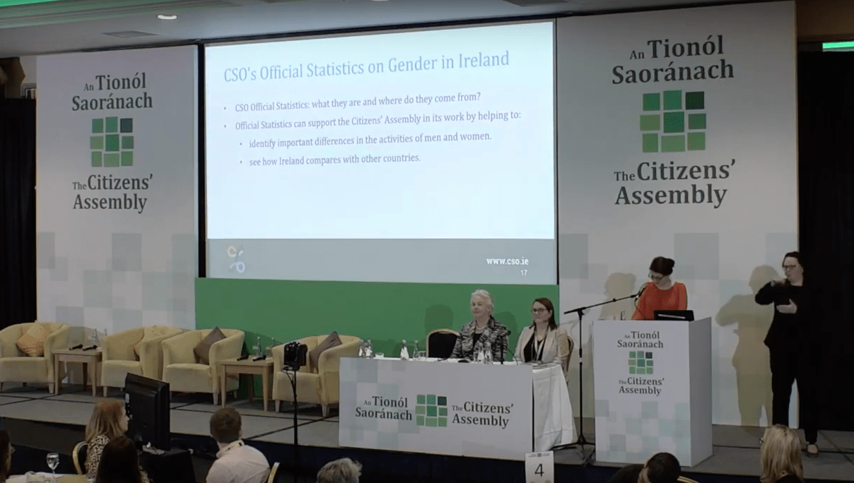Why Gender Equality Matters – Reflections on the Citizens' Assembly