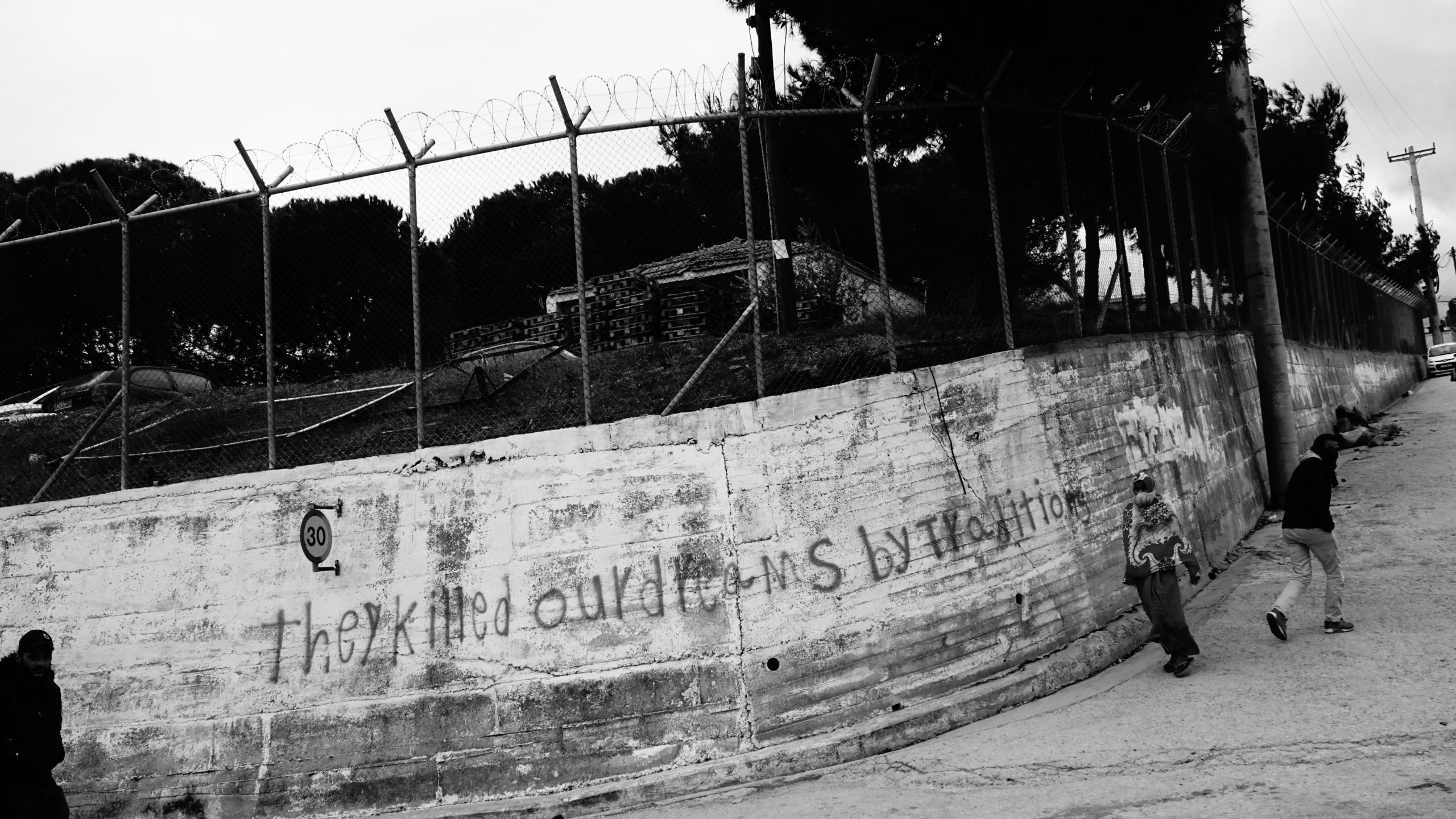 The Crumbling Humanitarian Situation on Lesbos