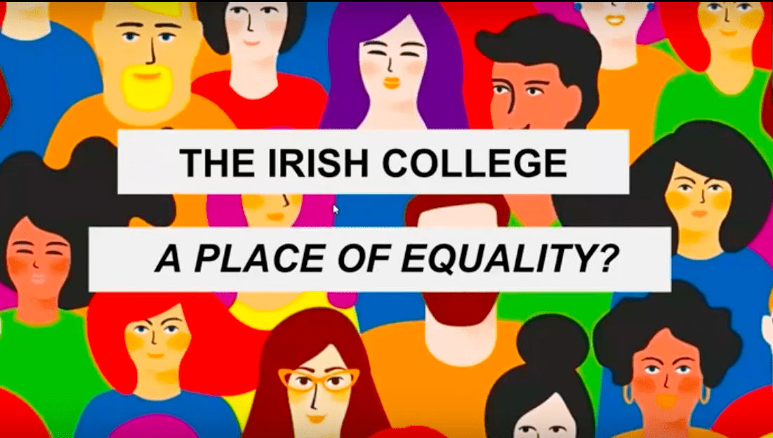 Video resource: The Irish college – a place of equality?