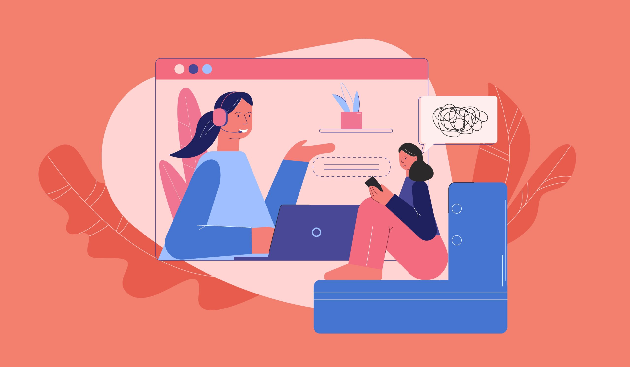 The Highs and Lows of Online Counselling During COVID-19