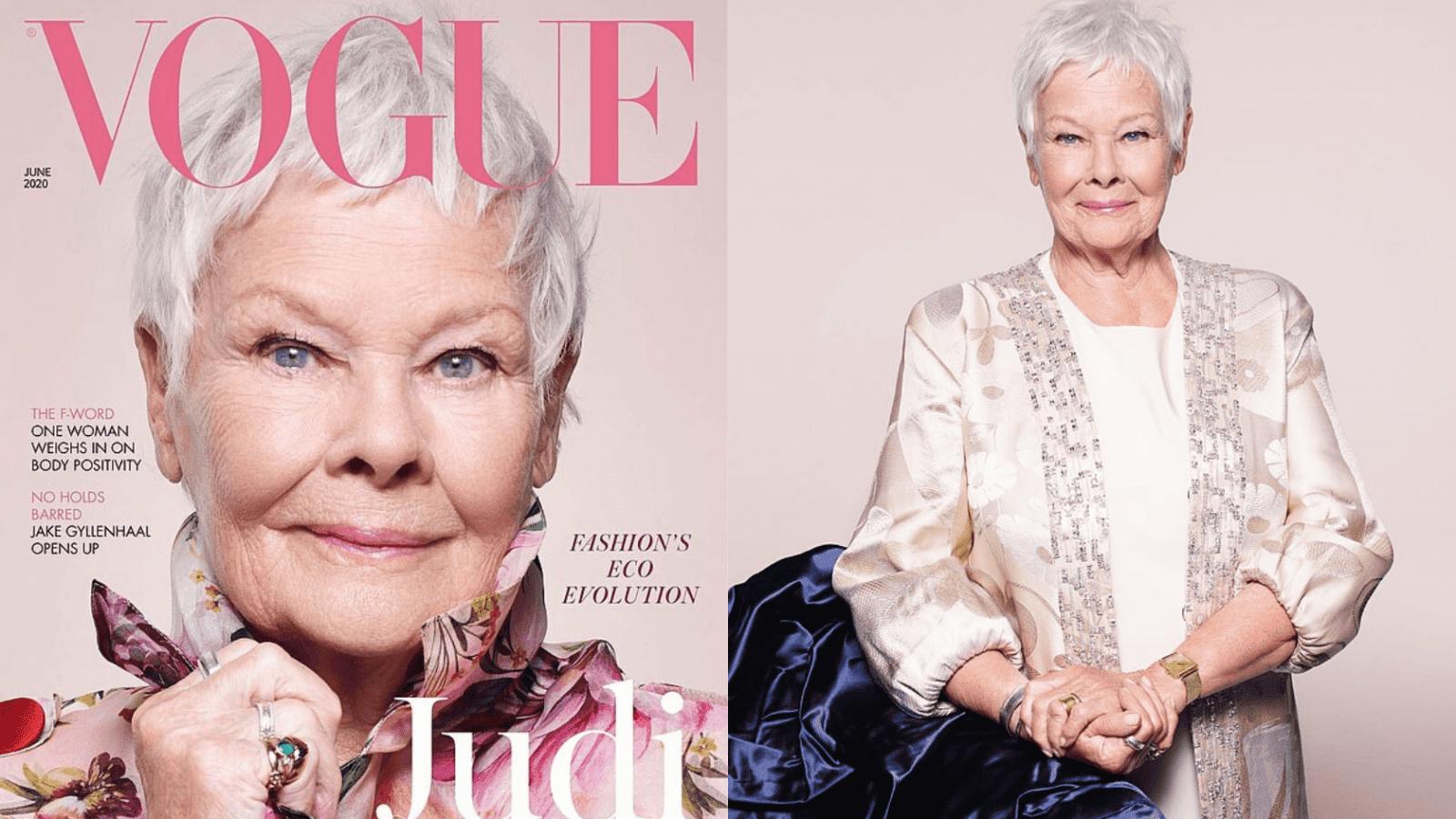 Judi Dench, 85, Becomes British Vogue Oldest Cover Star