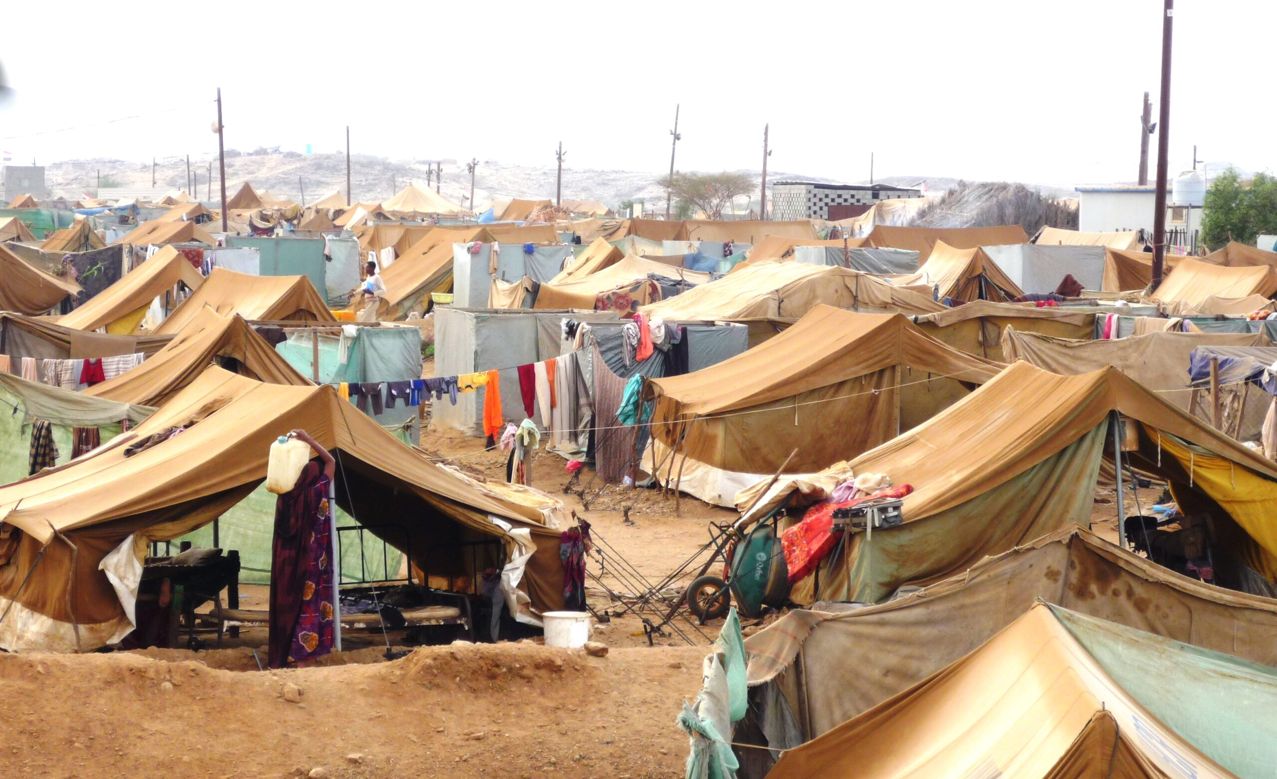 Yemen refugee camp