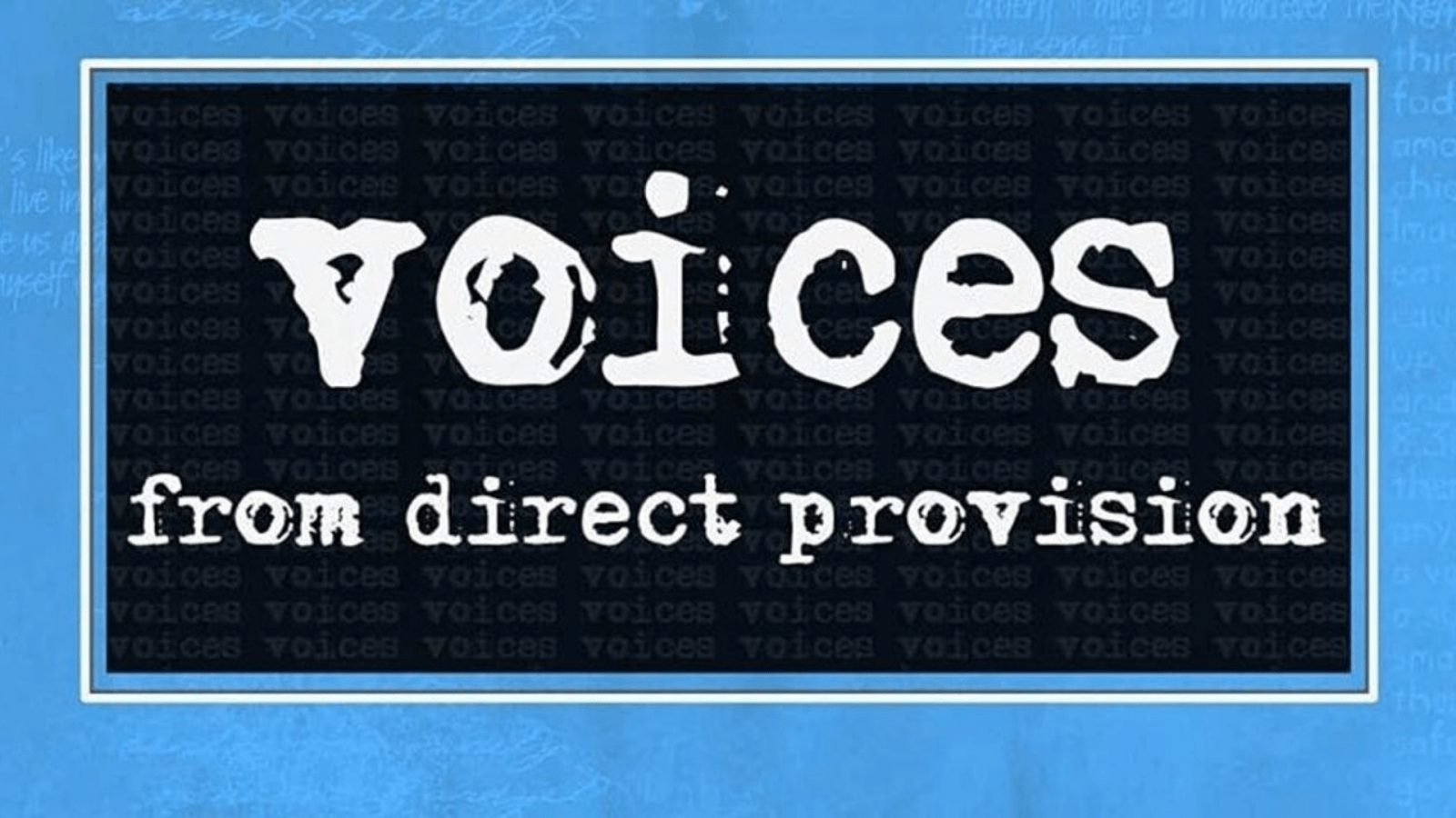 """Voices from Direct Provision Conference"