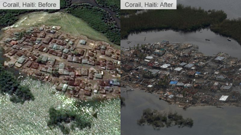 Hurricane Matthew: Haiti storm
