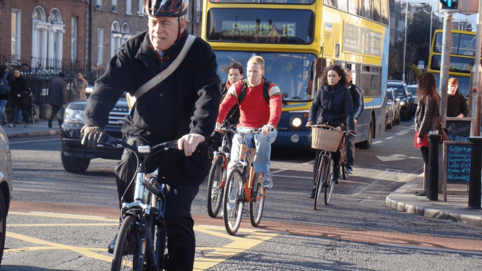 cycling in Dublin city