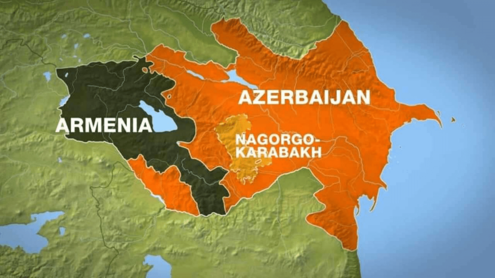Armenia and Azerbaijan disputed region