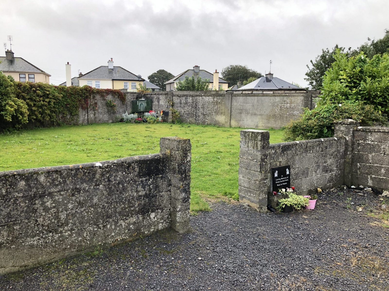 mass grave found at Tuam, Co. Galway
