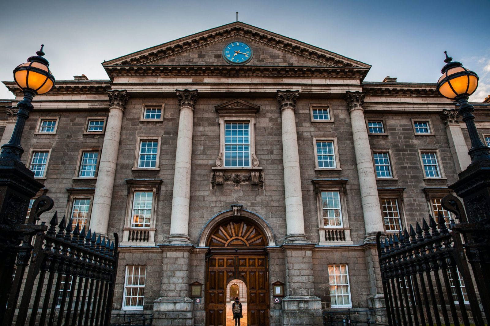 trinity college dublin entrance